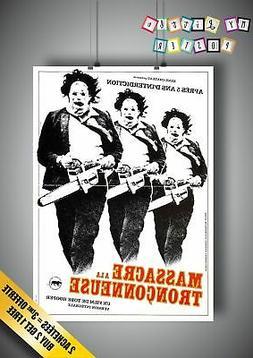 Massacre A La Tronçonneuse Original Poster Horror Movie