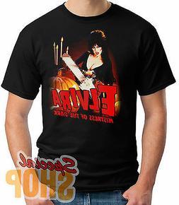 T-Shirt Elvira Mistress Of The Dark-Tronçonneuse Enfant / A